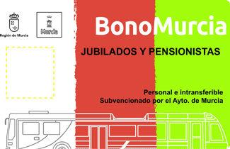Bono Murcia Jubilados y Pensionistas - Tranvía de Murcia