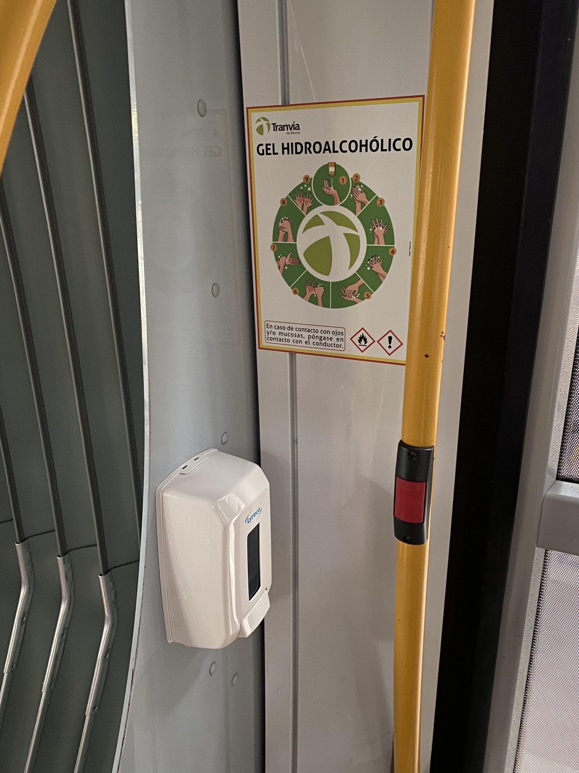 Viajar en Tranvía de Murcia es seguro
